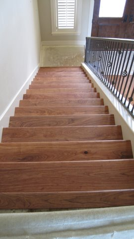 Mesquite Wood Stair Parts Wooden Stair Treads Risers In Texas
