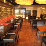 Nick San Restaurant, Mexico City, Mexico by Kaswell Flooring Systems