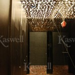 Mesquite Rounds Roka Akor, Chicago, IL by Kaswell Flooring Systems