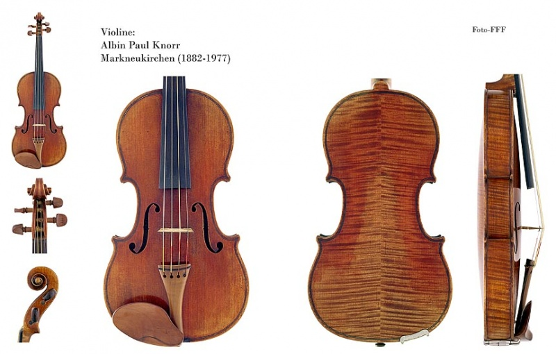 Bookmatching wood in violin
